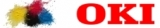 Заправка OKI цветных картриджей