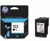 Заправка картриджей HP 123 A /XL Bk (F6V17AE, F6V19AE)